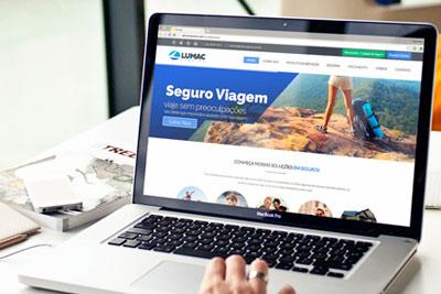 Criação de Identidade Visual e Site para Corretora de Seguros