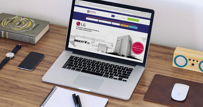 Criação de identidade visual e site para empresa