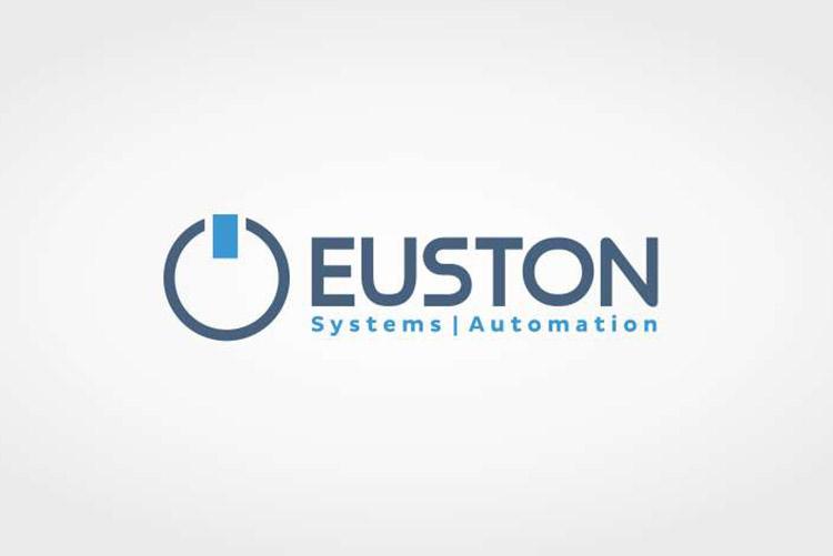 Criação de Logotipo Euston Empresa de Automação