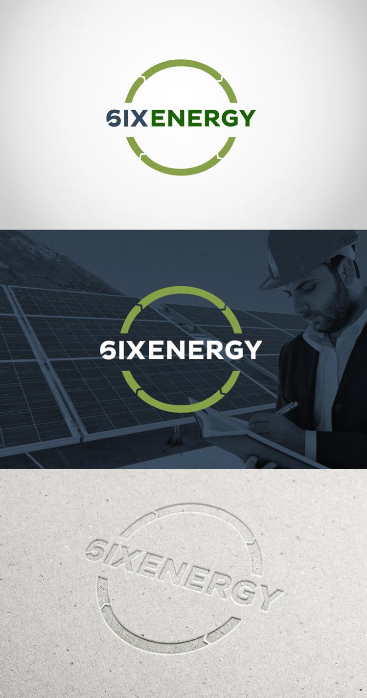 Criação de logotipo Six Energy