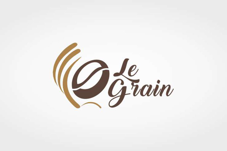 Logotipo para empresa Chololateria Le Grain