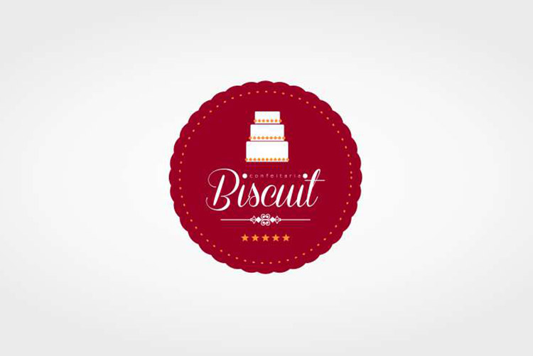 Logotipo para Confeitaria do Biscuit