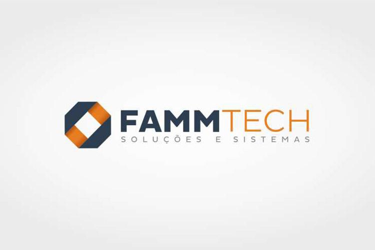 Criacao de logo Fammtech desenvolvimento de sistemas