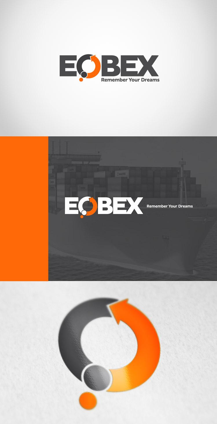 Criação de Logotipo EOBEX E-commerce Intercontinental