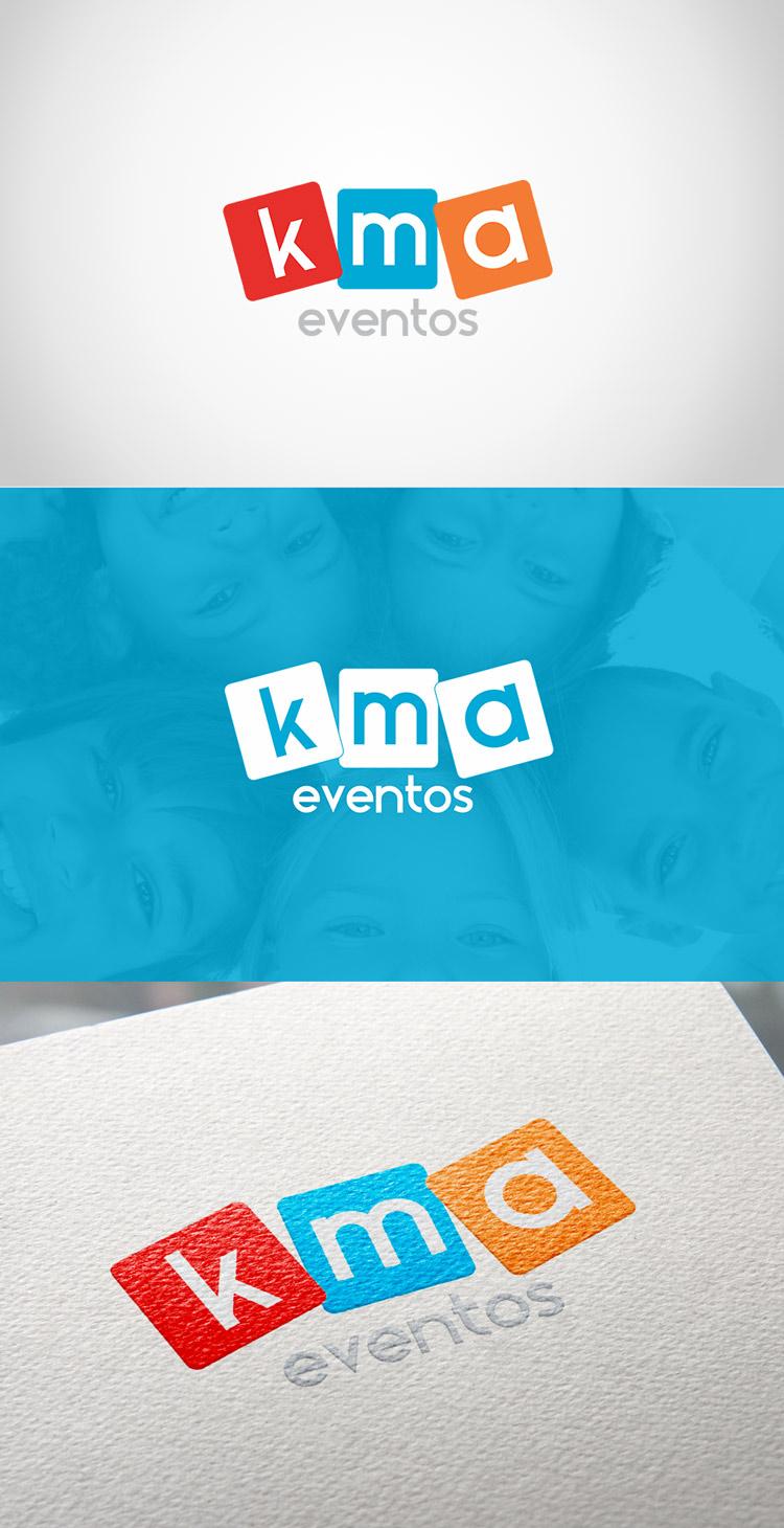 Criação de logotipo KMA Eventos
