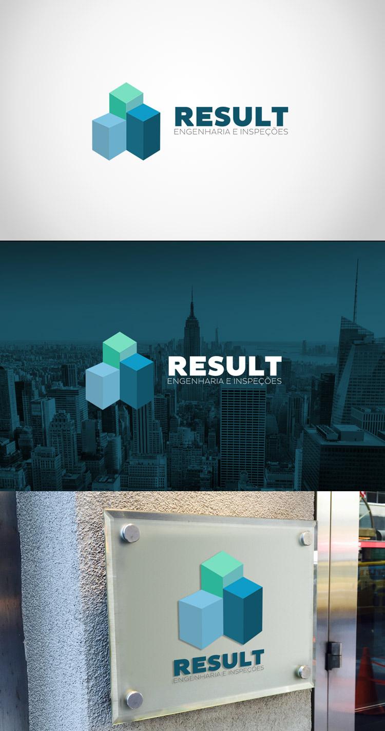 Criação de logotipo Result Engenharia