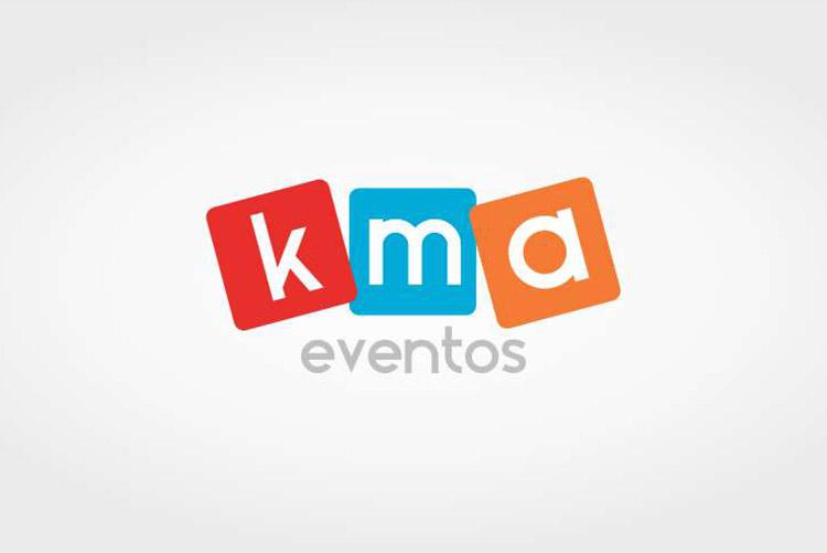 Criação de logo KMA Eventos
