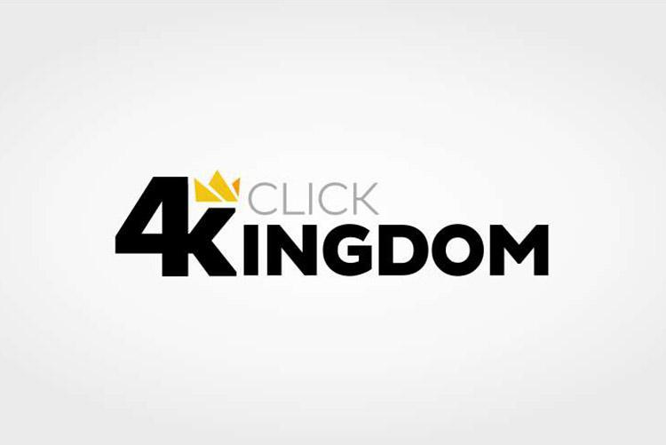 Criação de logotipo Fotógrafo Click 4 Kingdom