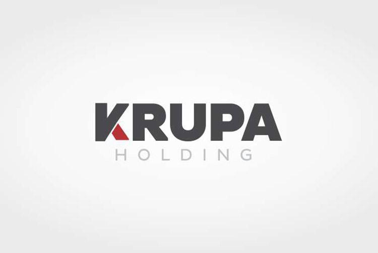 Criação de logotipo Krupa Holding