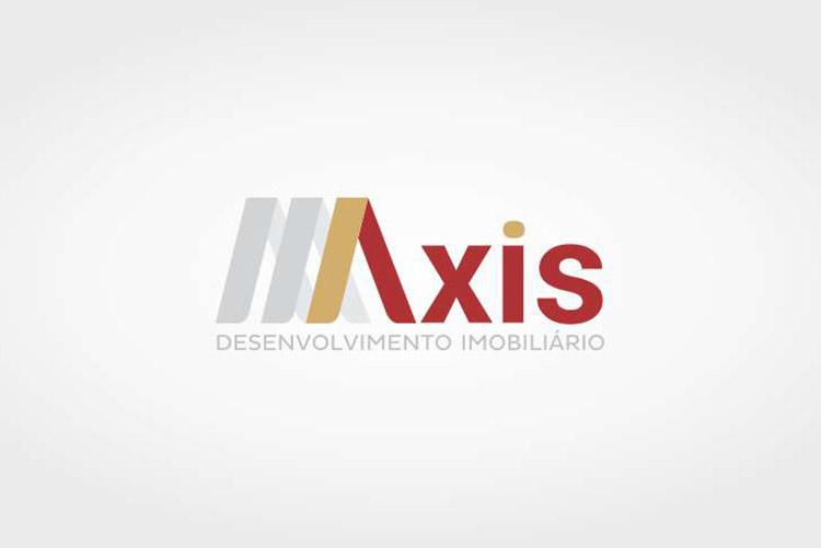 Criação de logotipo Axis Desenvolvimento imobiliário
