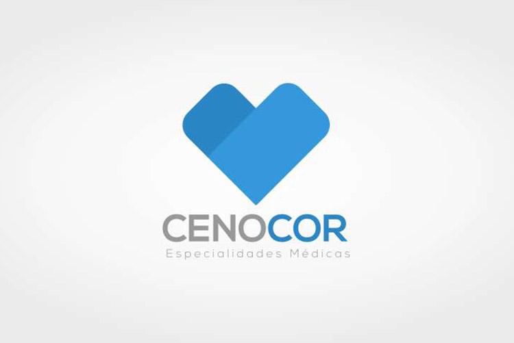 Criação de Logotipo Cardiologista Cenocor
