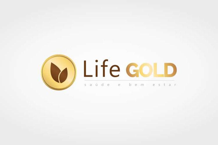 Criação de logotipo Life Gold