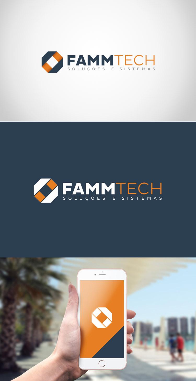Criação de logotipo Fammtech