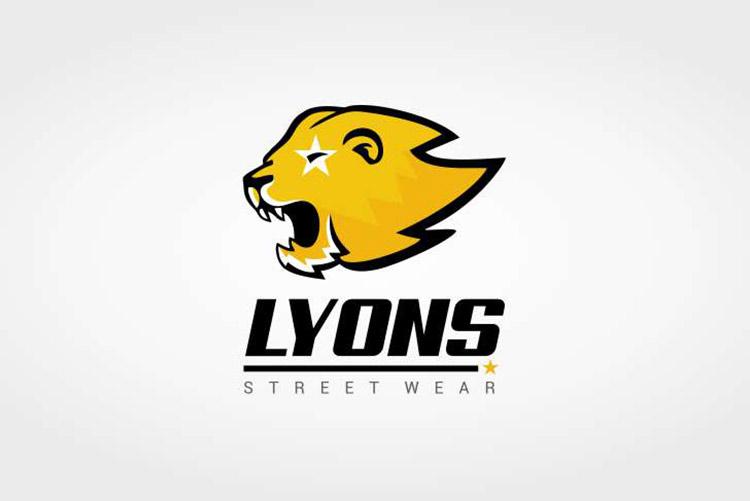 Criação de logo Loja Lyons