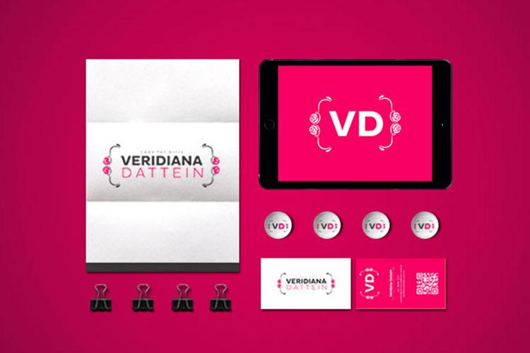 Identidade Visual programadora Veridiana