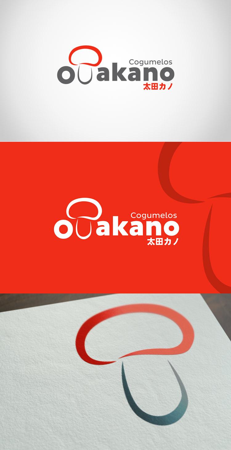 Criação de logotipo Otakano Cogumelos