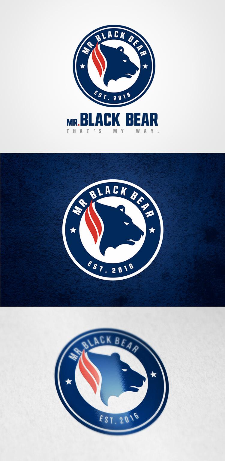 Criação de logotipo Marca de Roupa Black Bear