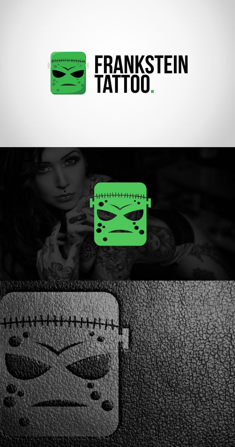 Criação de logotipo Frankstein Tattoo