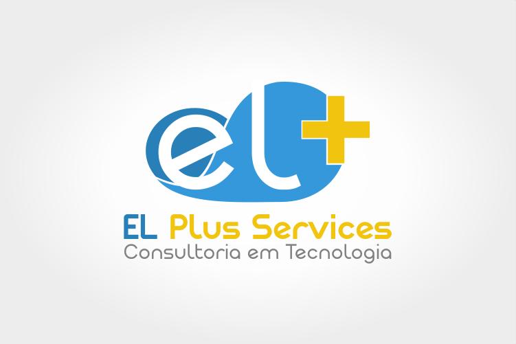Criação de logo EL Plus Service