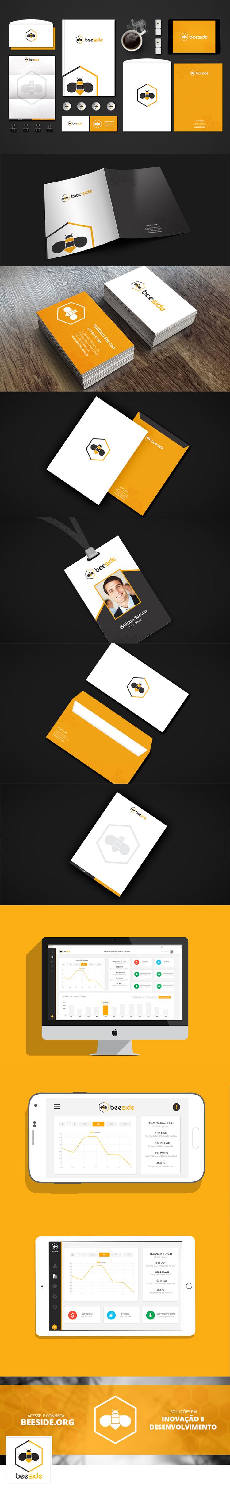 Identidade Visual Empresa Beeside