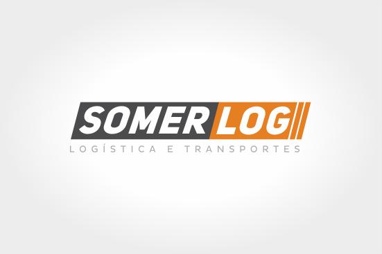 Criação de logo Somerlog