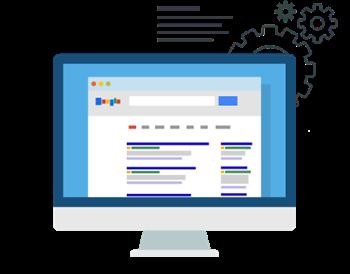 Links patrocinados Google