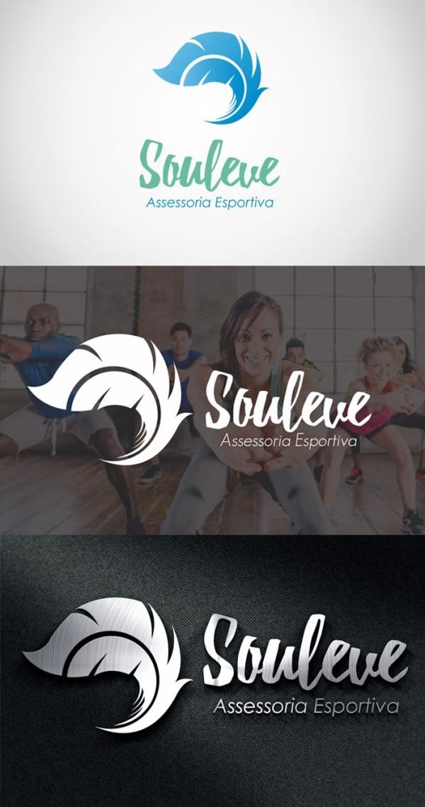 Criação de Logotipo Sou Leve